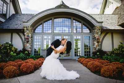 Real Wedding - Golf Clubhouse Wedding