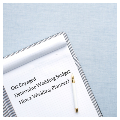 Wedding Planner Blog Notes - Why you should hire a wedding planner